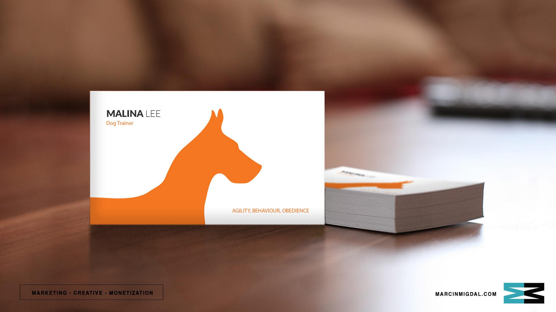Dorable dog training business cards elaboration business card fantastic dog training business cards sketch business card ideas colourmoves