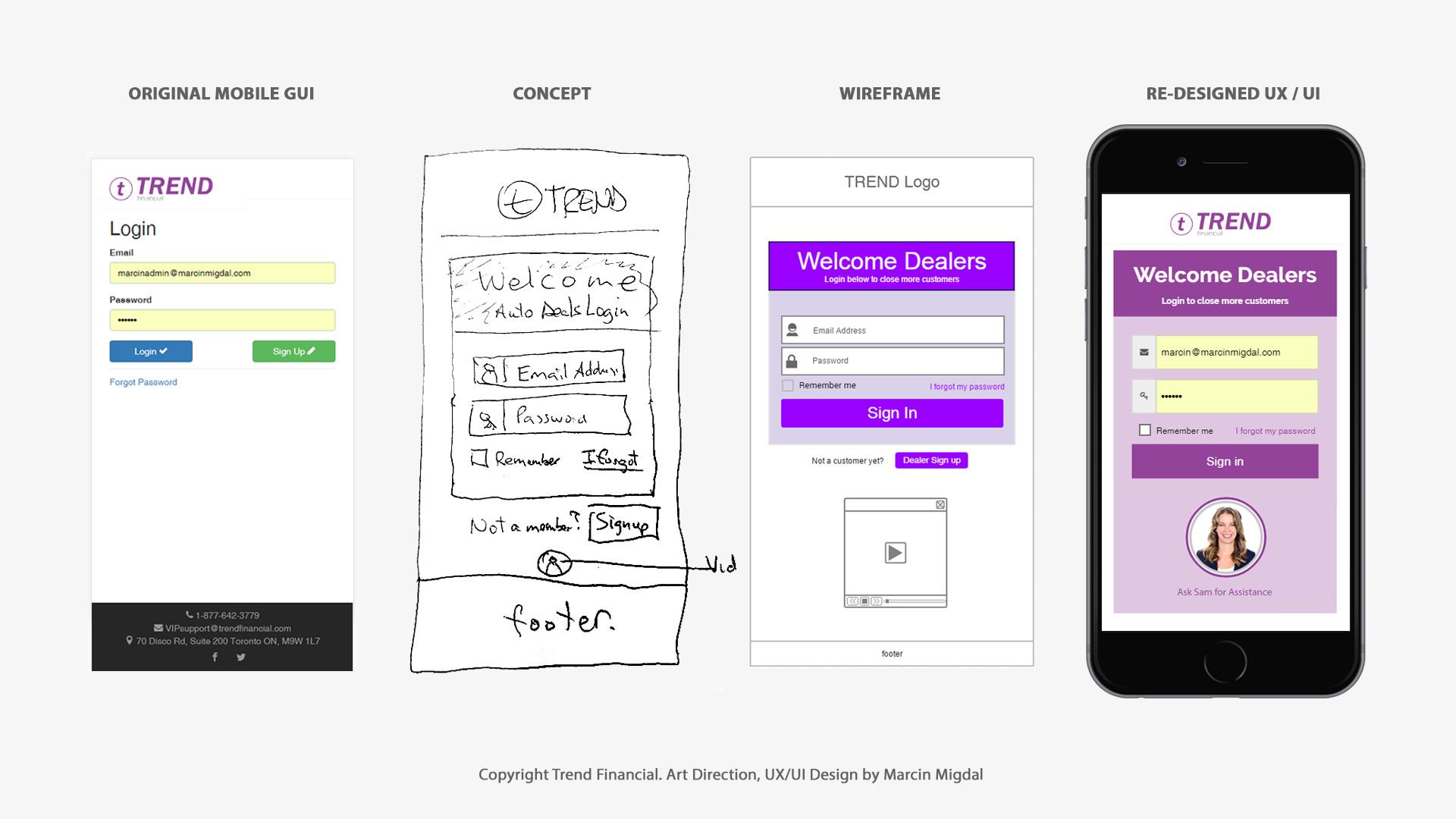 Marcin Migdal - Top UX / UI Designer in Toronto  Mobile